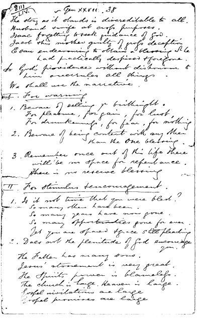 spurgeon notes